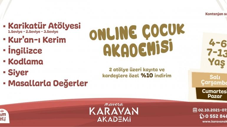 Karavan Online Çocuk Akademisi (4-6 ve 7-13 Yaş)